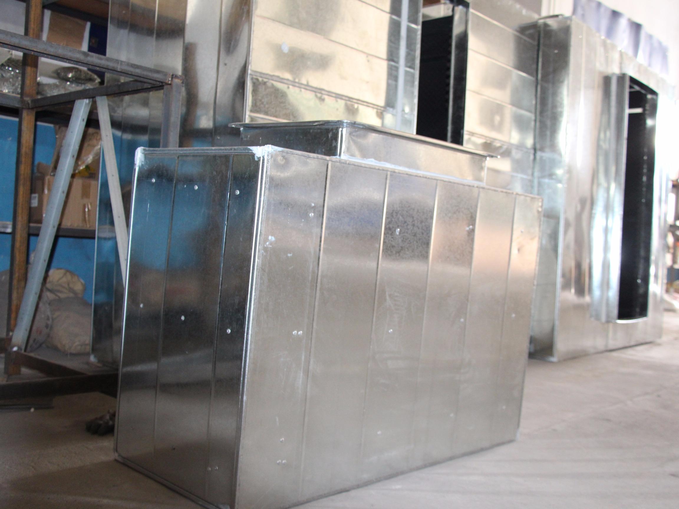 镀锌板不锈钢 消音管/静压箱