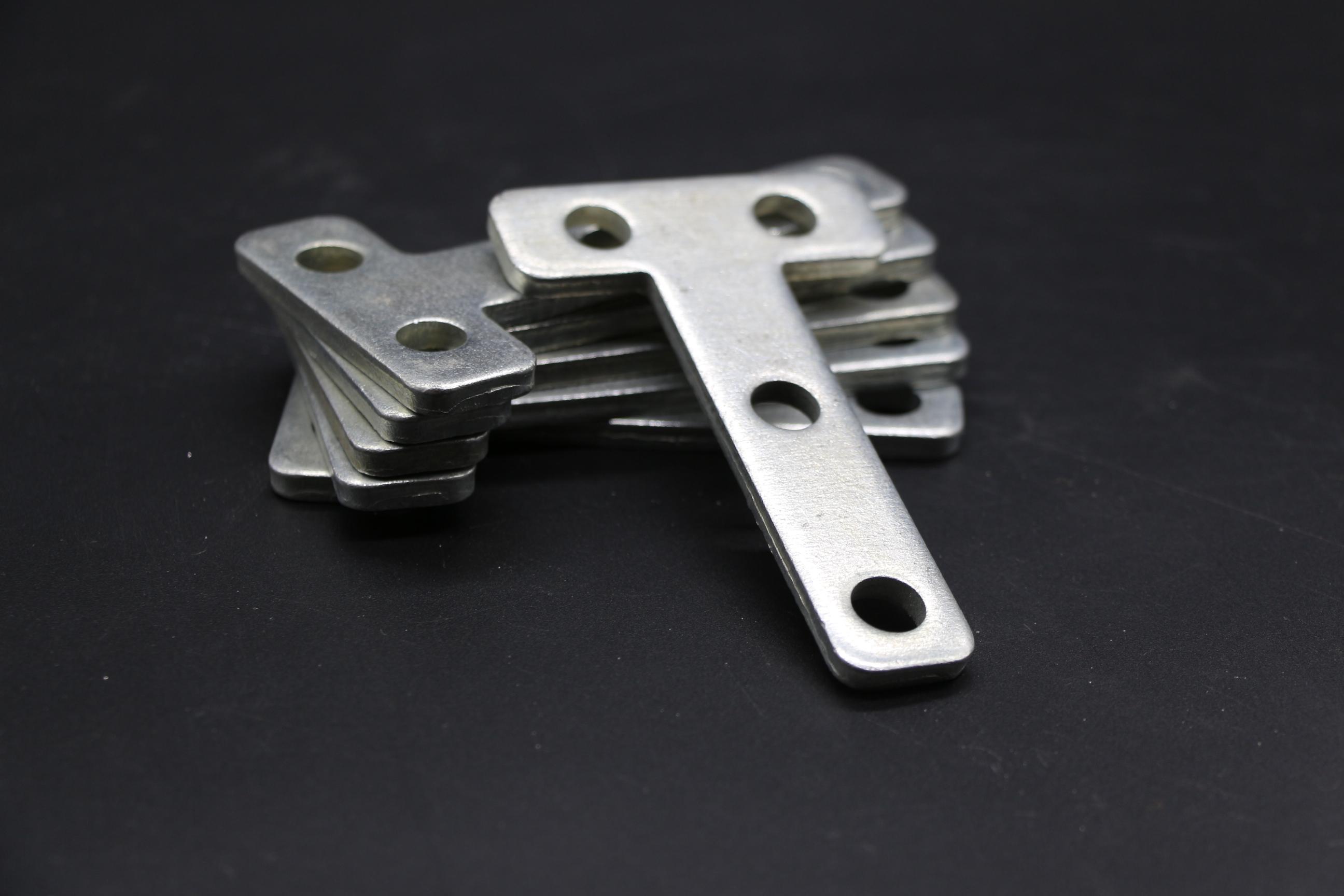 T型连接板钣金加强固定件铁片