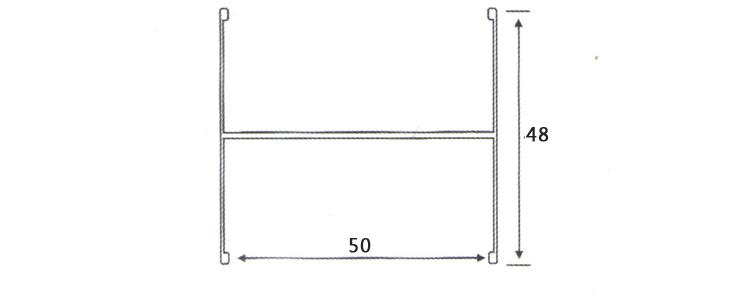 龙大工字铝参数图